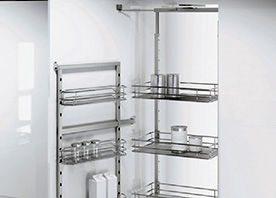 Swing-Out Pantry
