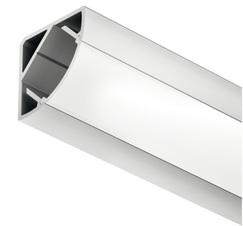 Aluminum Corner Profile, for Corner Mounting