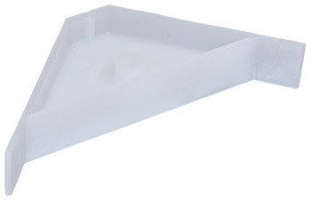 Corner Bracket, Plastic, 67 x 18 mm