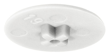 Cover cap, For Häfele Minifix<sup>®</sup> 12 without rim