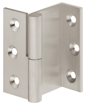 Cranked Hinge, Butting for Front-Hung Doors