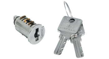 Cylinder Core, VCS18, for Reversible Key with 2 Keys