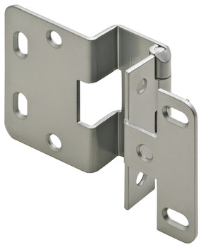Five-Knuckle Institutional Hinge, Grade 1, Opening Angle 270°, Steel, for 3/4 Door Thickness