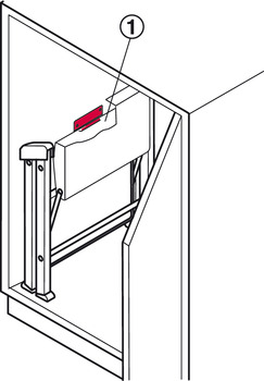 Hanging Bracket For Stepfix Step Stool In The H 228 Fele