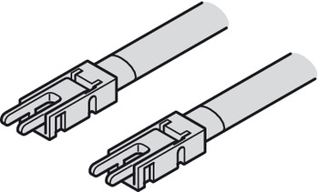 Interconnecting lead, Häfele Loox5 for LED strip light monochrome 5 mm (3/16')