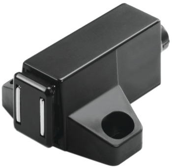 Magnetic Pressure Push Latch, 40 x 42 mm, 1 kg Pull