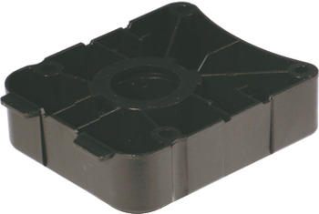 Plinth Foot Top Section, Screw Fixing or Press-Fit