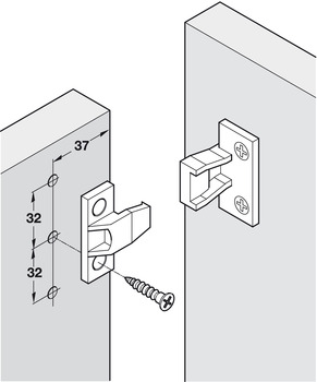 Push-in Fastener, AS