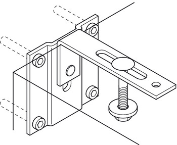 Safety Bracket, for Häfele Wall Bed