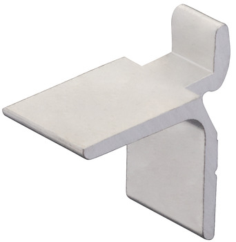 Shelf support, aluminium, load bearing capacity 12.5 kg per piece