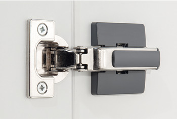 Special hinge, Half overlay mounting, for wide wooden doors with width up to 900 mm