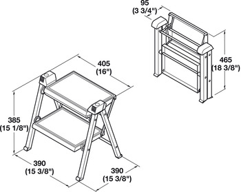 Stepfix Step Stool Folding In The H 228 Fele Canada Shop