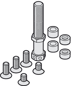 Suspension Bolt, M14, Including Mounting Screws