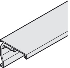 Wall Mounting Angle Profile, Pre-drilled