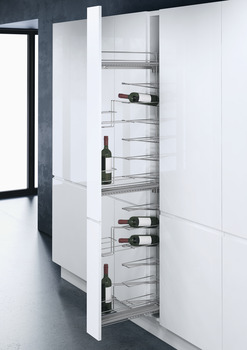 Wine Rack Pull-Out, VS TAL WIRO Bottle