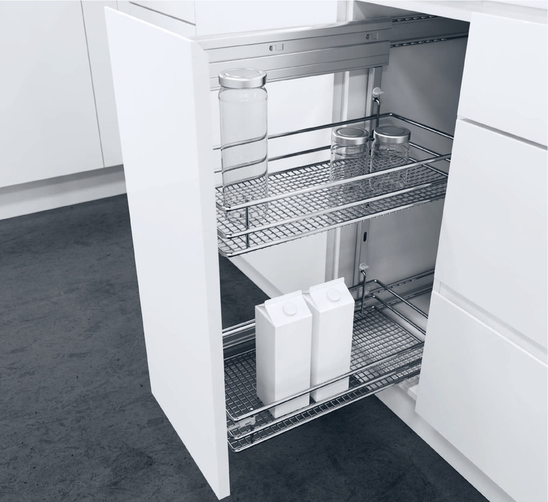 Kitchen Cabinet Accessories Canada: Accessories, For Glassline Base Cabinet Pull-Out