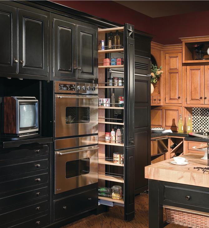 Kitchen Cabinet Slides: EKU Forte 170/340 Top/Bottom Mounted Cabinet Slide