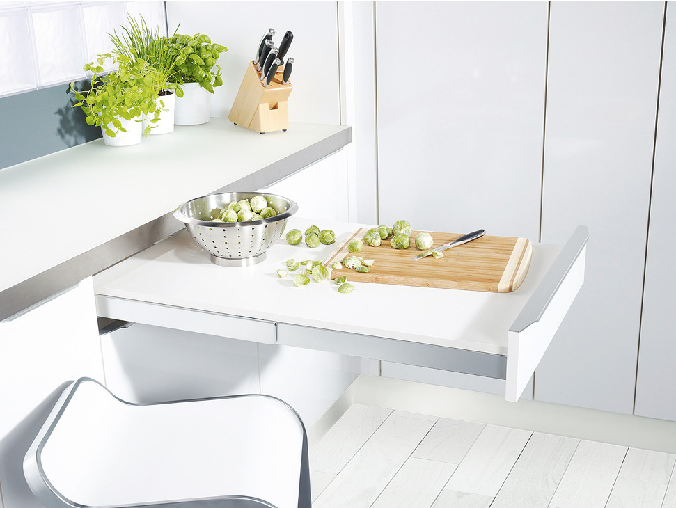 Pull Out Table System, Top Flex