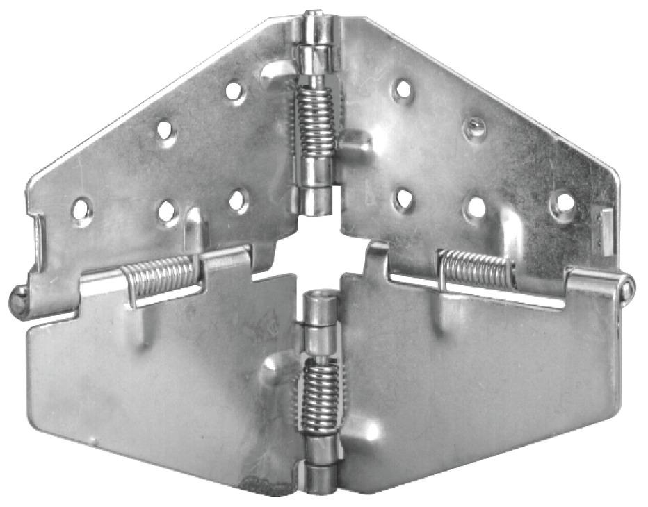 Table Leaf Flap Hinge, Steel