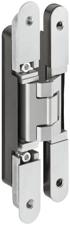 Paumelle De Porte, Simonswerk TECTUS TE 240 3D N, à Pose Invisible, Pour  Portes à Recouvrement Jusquu0027à 60 Kg