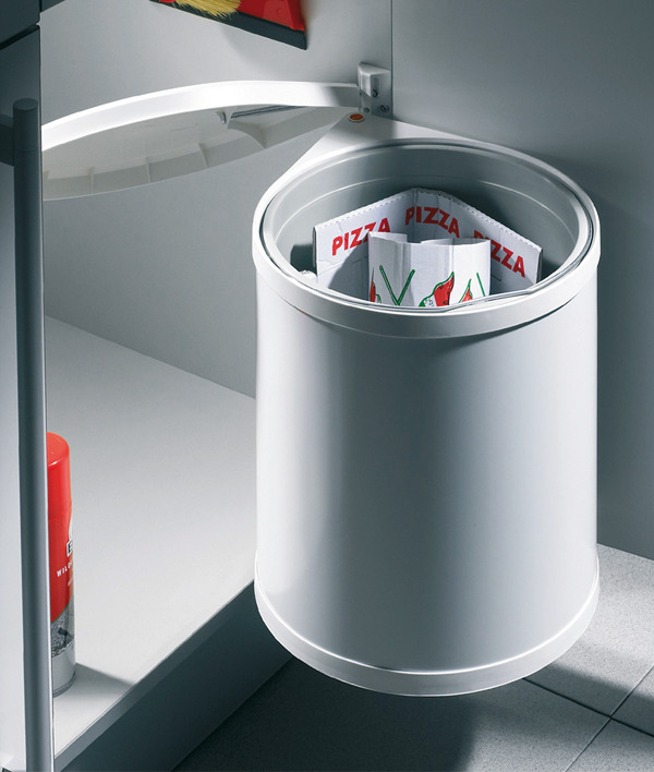 poubelle simple 15 litres hailo mono dans la boutique h fele canada. Black Bedroom Furniture Sets. Home Design Ideas